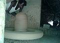 A potter at work in Tantadi village.jpg