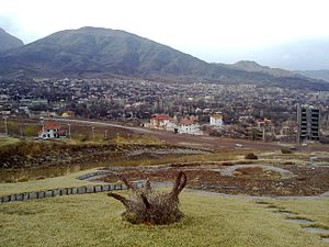 Qamsar - A view from Qamsar