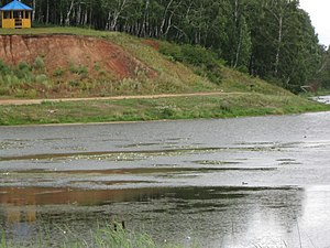 Abansky District - The Aban River near the settlement of Aban in Abansky District