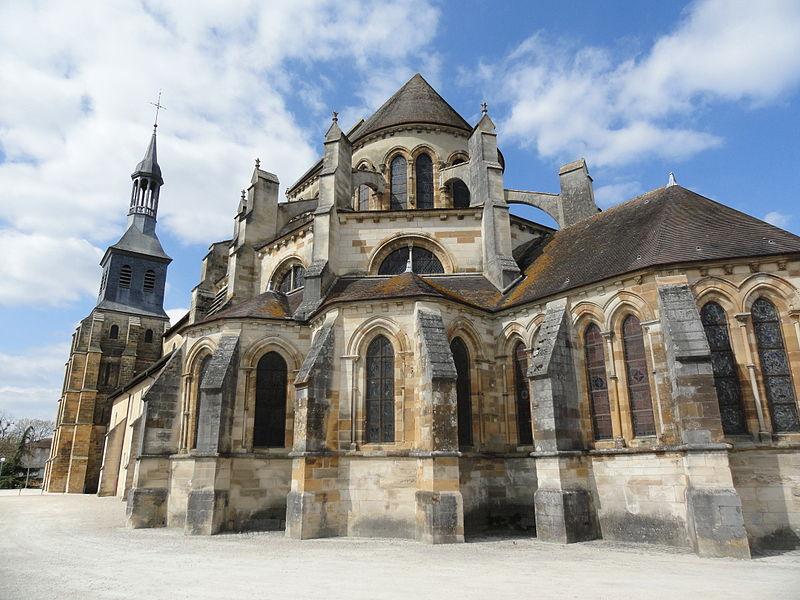 Chevet de l'Abbatiale Saint-Pierre-et-Saint-Paul de Montier-en-Der