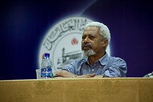 Abdulrazak Gurnah - Abulrazak Gurnah on Hebron Panel.