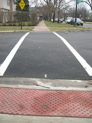 Accessible Street Cross for Blind and wheelcha...