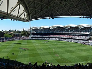 South Australian National Football League - The 2014 SANFL Grand Final was the first time since 1973 that a premiership was decided at Adelaide Oval.