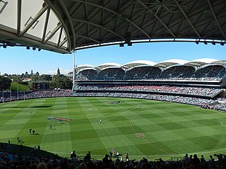 Lendlease Group - Adelaide Oval Redevelopment, finished in 2014