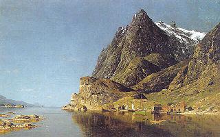 Vue d'un fjord