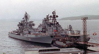 Soviet cruiser <i>Admiral Isakov</i>