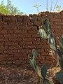 Adobe - Pared de adobe en Dolores Hidalgo, GTO.jpg