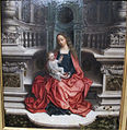 Adriaen isenbrandt, madonna in trono col bambino, XVI sec. 02.JPG