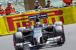 Adrian Sutil in de C33