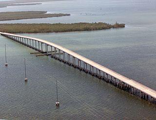 Card Sound Bridge bridge in Florida