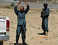 Afghan National Civil Order Police officers train for operations in Afghanistan. (4537275065).jpg