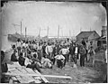 African American laborers at Alexandria, near coal wharf (4166259453).jpg
