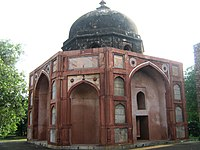 Afsah-walla-ki-Masjid (Assarwala mosque) situated outside the west gate of Humayun's tomb 09.JPG
