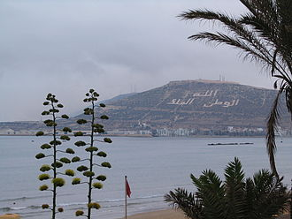 Agadir - Hill of the old Casbah