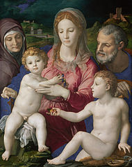 Holy Family with St. Anne and the Infant St. John