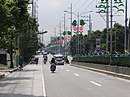 Aguinaldo Highway - butterfly-decorated light posts (Cavite)(2018-02-01) 1.jpg
