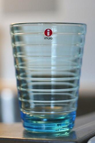 Aino Aalto - Glass vase designed by Aino Aalto.