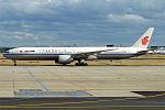 Air China, B-2039, Boeing 777-39L ER (20164415850).jpg