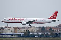 TC-ATF - A321 - Atlasjet