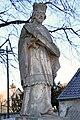 Ajka-Tósokberénd, Nepomuki Szent János-szobor 2021 04.jpg