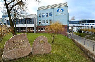 Kozminski University - Part of Kozminski University campus