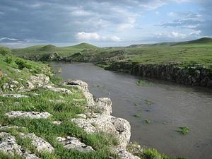 Shirak Province - Akhurian River