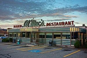 Al Mac's Diner-Restaurant - Image: Al Mac's Diner Restaurant Fall River MA 2012