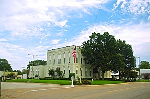 Crockett County, Tennessee - Image: Alamo Crockett County Courthouse tn