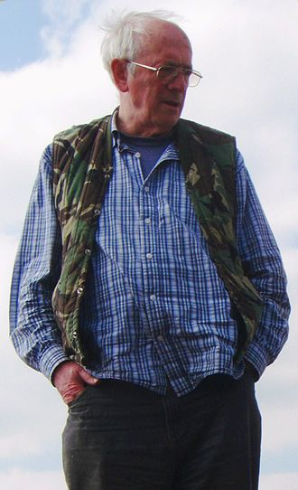 Alan Garner - Garner in 2011