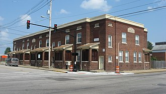 Downtown Evansville - Image: Albion Flats