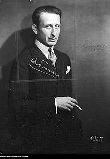 Alexandre Tansman Polish composer, virtuoso pianist and conductor