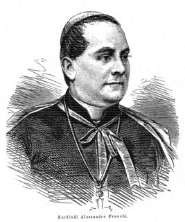 Alessandro Franchi (cardinal) Italian cardinal in the Roman Catholic Church