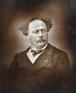 Александр Дюма. Около 1880 года.