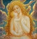 Szűz Mária és a gyermek Jézus