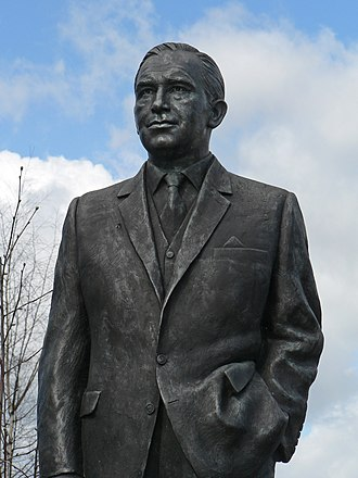 Ipswich Town F.C. - Statue of Sir Alf Ramsey at Portman Road
