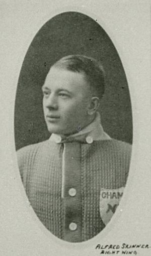 Alf Skinner - Skinner with the Toronto Arenas.
