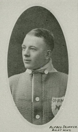 Alf Skinner - Skinner with the Toronto Arenas.