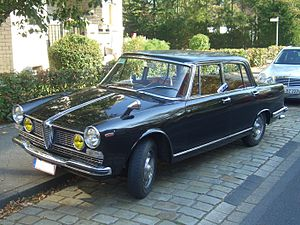 Alfa Romeo 2600 - 2600 Berlina
