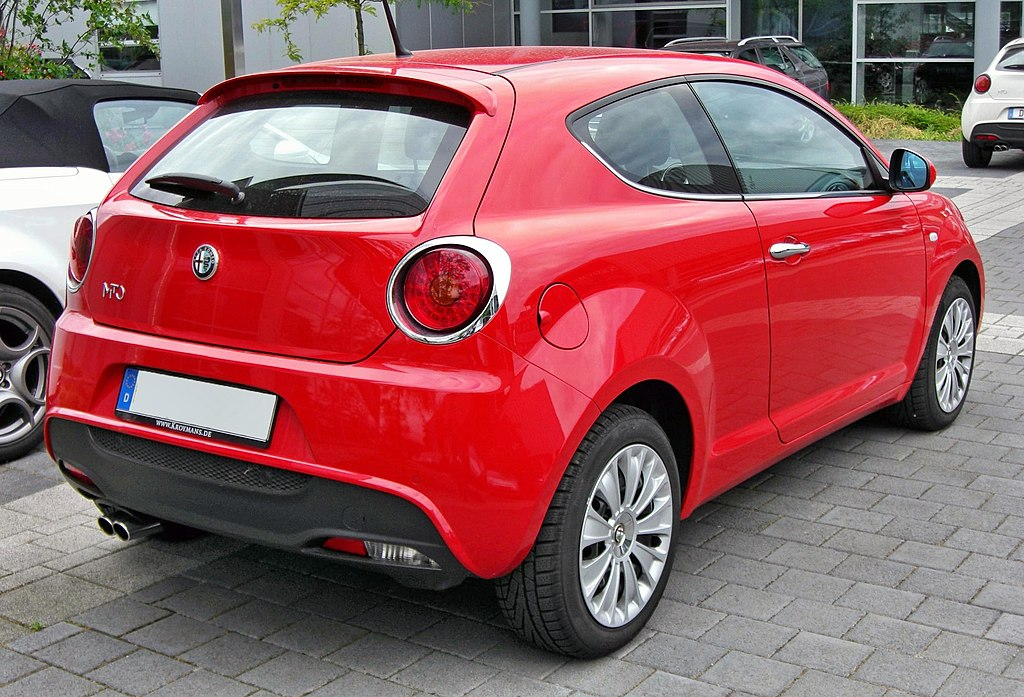 file alfa romeo mito 20090603 rear jpg wikimedia commons. Black Bedroom Furniture Sets. Home Design Ideas