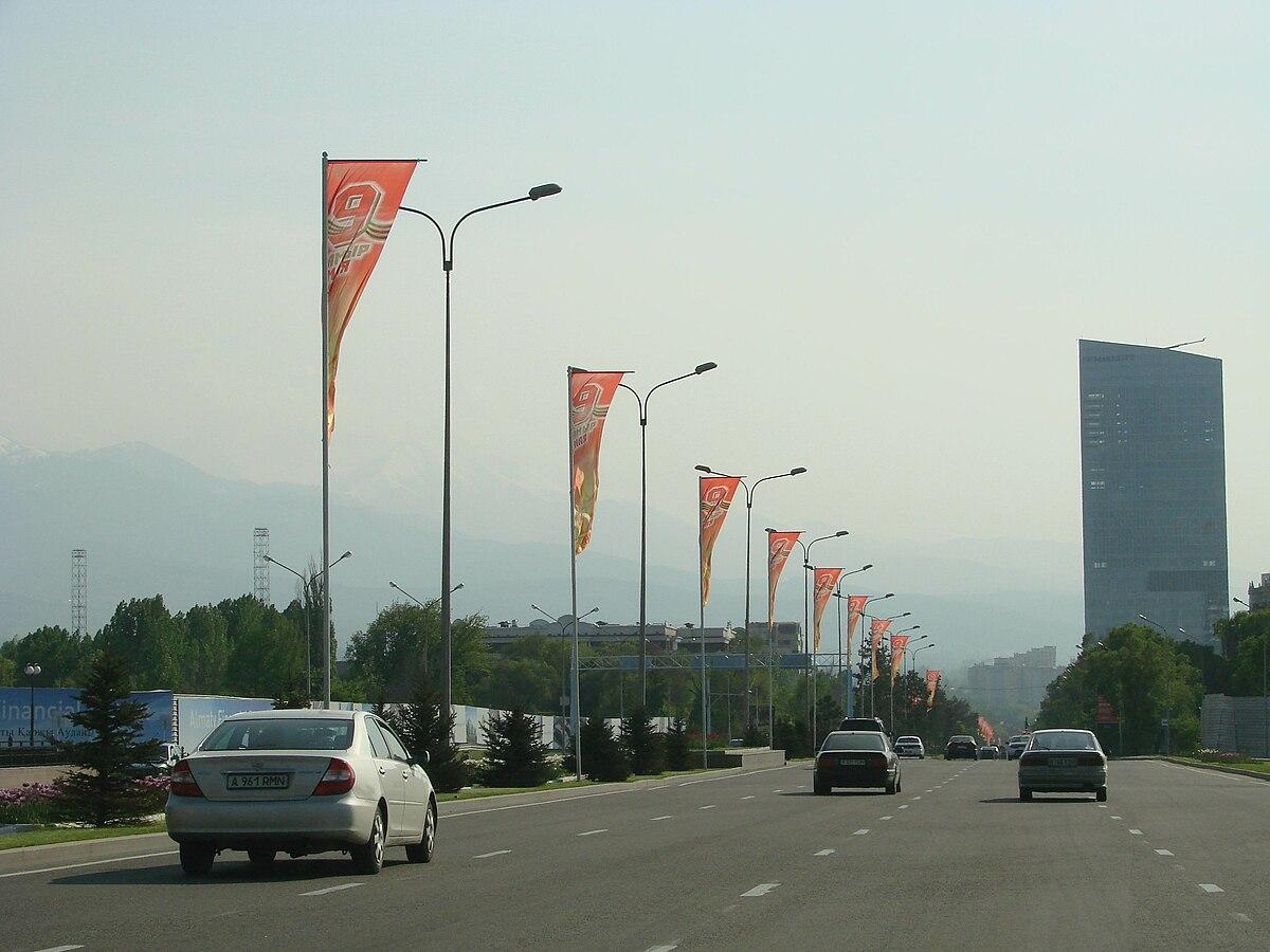 На Аль-Фараби, ВОАД и Саина в Алматы снизят скорость движения до 60 км/ч