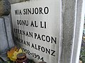 Alfonz Pechan Esperanto tomb inscription.JPG