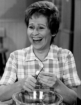 Alice Ghostley - Ghostley as Cousin Alice in Mayberry R.F.D., 1970.