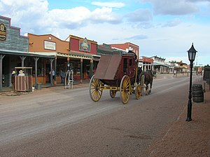 U.S. Route 80 in Arizona - Allen Street (former US 80) in Tombstone