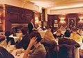 Alois Kracher speaks at a meeting of the Oxford University Wine Society.jpg