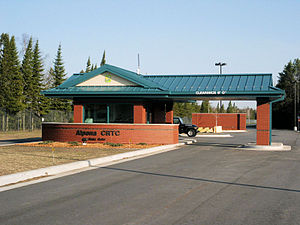 Alpena Combat Readiness Training Center - Alpena Combat Readiness Training Center Main Gate