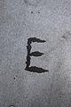 Alphabet letters upper case E (9368453598).jpg