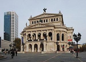 Alte Oper - Alte Oper façade