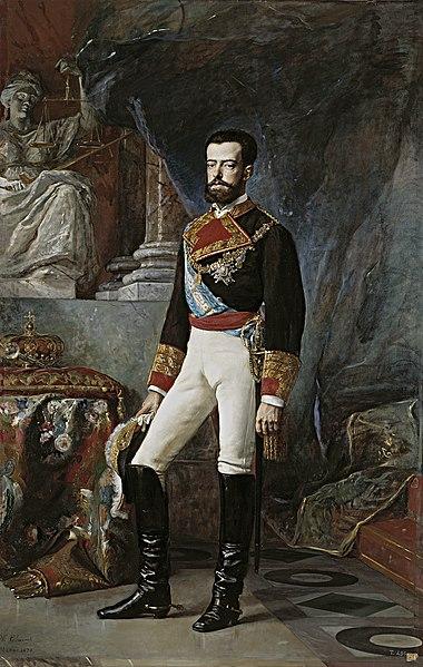 Amadeo de Saboya rey de España