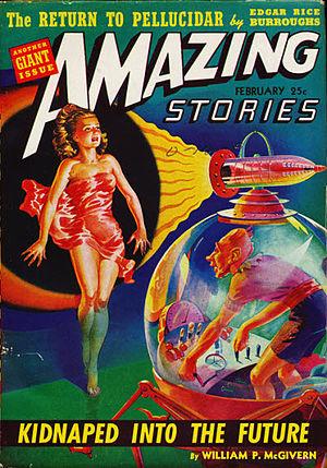 Robot AL-76 Goes Astray - Image: Amazing stories 194202