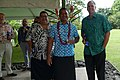 Ambassador Scott Brown and Gail Brown on their second visit to Samoa - Feb 2018 (25165650987).jpg